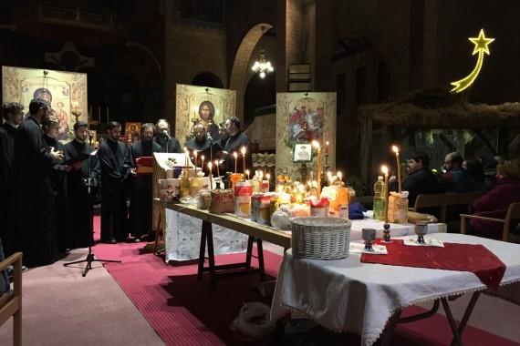 Taina Sfântului Maslu Postul Crăciunului 2019